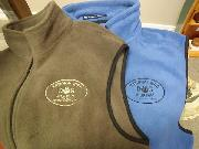 NBDM Paw Print Logo Fleece Vests