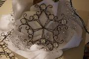 Glass Snowflake Ornaments